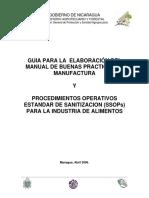 Guia Para Elaboracion Manual Bpm y Ssop