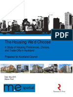 Housing We'd Choose With Appendices - A Council Report
