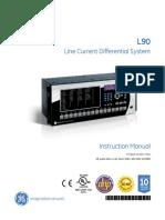manual de usuario multilin ge L90