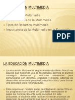 Diapositiva Educacion Multimedia