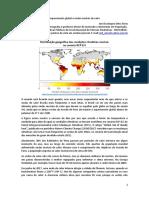 Aquecimento global e ondas mortais de calor