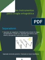 Instrumentos Ortognatica