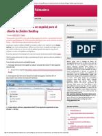 Configurar Diccionario en Español Para El Cliente de Zimbra Desktop _ Blog de Martin Lugo Palmadera