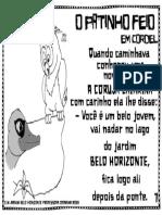 Patinho Feio Em Cordel7