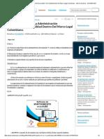 RE_ Apertura Foro 1_ La Administración Documental Y Su Finalidad Dentro Del Marco Legal Colombiano