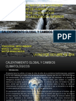 Calentamiento Global y Cambios Climaticos