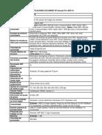 Especificaciones Escanner Hp Scanjet Pro 4500 Fn1