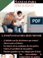 20. Enseñanzas Para Padres e Hijos