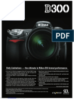 D300 Specifications