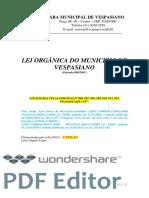 Emenda 006.01 - Lei Orgânica - Vespasiano - Consolidada - 5ª Edição - (Emenda 006 a 017)-Copiar