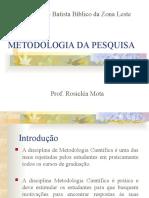 Introdução a Metologia IBBZL