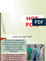 hot foil