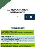 Respon Imun Terhadap Transplantasi (Prof. dr. Syarifuddin Wahid^J Ph.D^J Sp.PA^J Sp.F)
