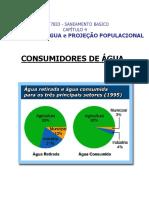 Cap 4 - Consumo de água e Projeção Populacional