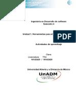 Unidad 1 Actividades de Aprendizaje DMMS