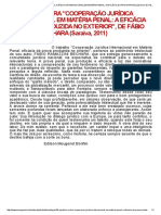 POSFÁCIO À OBRA _COOPERAÇÃO JURÍDICA INTERNACIONAL EM MATÉRIA PENAL_ A EFICÁCIA DA PROVA PRODUZIDA NO EXTERIOR_, DE FÁBIO RAMAZZINI BECHARA (Saraiva, 2011).pdf