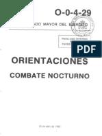 O-0-4-29 COMBATE NOCTURNO