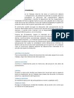 Especificaciones Tecnicas de Almacen y Cartel de Obra