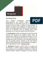 Proposito de Las Lenguas