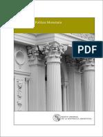 Informe Política Monetaria Julio 2017