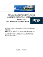 Diplomado Instrumentacion y Control en Plantas de Proceso