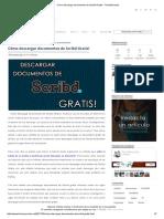 Cómo Descargar Documentos de Scribd Gratis! - TochoMorocho