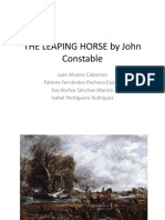 The Leaping Horse by John Constable