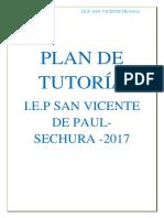 Plan de Tutoría San Vicente de Paul