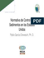 Normativa Sedimentos P Garcia