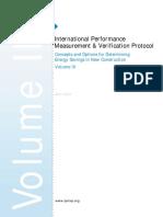 International Performance Measurement & Verification Protocol, Volume III. New Construction