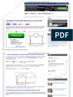 Cara Mudah Dan Cepat Dalam Menghitung Luas Atap Rumah _ Proyek Sipil
