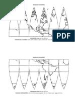 Molde Planisferio 47,5x23,75 Em A4