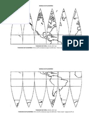 Molde Planisferio 47 5x23 75 Em A4