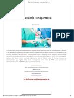 Enfermería Perioperatoria - Hablemos de Enfermería.pdf
