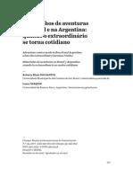 Quadrinhos de aventuras no Brasil e na Argentina