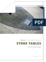 Stone Table Brochure
