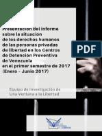 La violencia y las enfermedades arropan a los centros de detención preventiva
