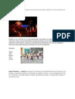 Danza Colectiva Bailan en Conjunto Sea Una Pareja de Damas