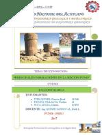 Principales Formaciones de La Region Puno Exposicion