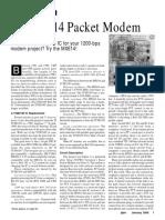 MX614 Packet Modem