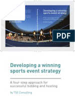 Developing a winning sports event strategy