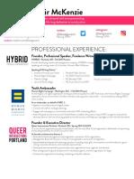 Resume - Aug 2016