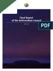 Referendum Council Final Report