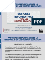 Presentacion TelefoniaIP Centros Educativos