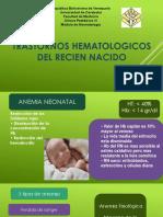 Trast hermatologicos