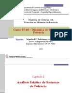 EE60 - Clase 3 - Flujo de Potencia