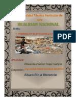 Pobreza en Ecuador Periodo 2007-2016