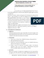 Manual de Organizacion y Funciones