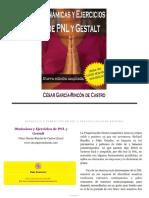 Dinamicas y Ejercicios de Pnl y Gestalt- César García
