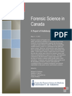Forensic Science in Canada